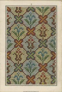Ücretsiz Kolay Çapraz, Desen Makinesi, PCStitch Grafikler + Serbest Tarihi Eski Desen Kitapları: Sajou No 309