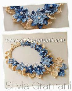 . Crochet necklace