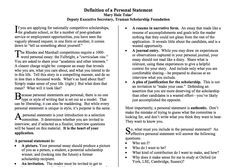 Is struggling with math an acceptable challenge to write about in a personal statement for college?