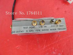 [BELLA] <font><b>HARRIS</b></font> SD-60745 8GHz 21V SMA supply amplifier