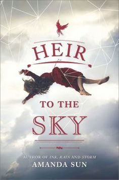Heir to the Sky by Amanda Sun.  She is the Eternal Flame of Hope for what's left of mankind, the wick and the wax burning in service for her people, and for their revered Phoenix, whose magic keeps them aloft. #ebook #book #fiction #reading #library #ya