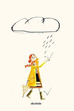 Rain Woman Luciano Lozano by jasmine