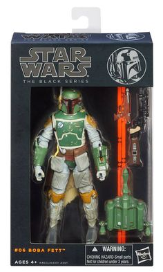 Star Wars Black Series 6-inch Boba Fett - The Movie Store