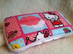 Hello Kitty Travel Wipes Case by PreciousPixi on Etsy, $10.00