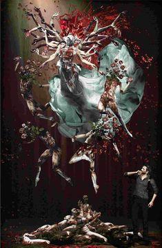 The Evil Whitin 2 - Concept Art The Evil Within Game, Cry Of Fear, Survival, Levi X Eren, Tumblr, Horror Art, Resident Evil, Dark Fantasy, Dark Art