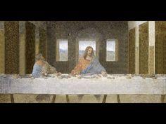 """13. Estudio de la obra """"La última cena"""" de Leonardo da Vinci. - Esta conciencia dramática  es el ppal. elemento  de cambio de la Ultima Cena y uno de los ejes del trabajo de Leonardo como pintor. Los numerosos estudios fisionómicos que realizó a lo largo de su carrera prueban la importancia que confería la gestualidad como medio expresivo para la indicación de emociones y caracteres morales."""