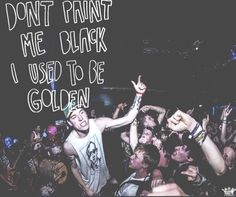 "Clairvoyant- The story so far ""don't paint me black, I used to be golden."""