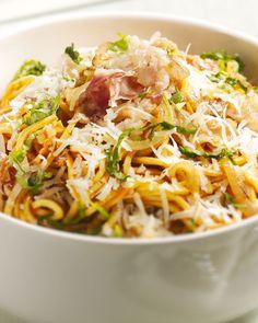 I Want Food, Feel Good Food, Breakfast Recipes, Dinner Recipes, Everyday Food, Tasty Dishes, Spaghetti, Italian Recipes, Food Inspiration