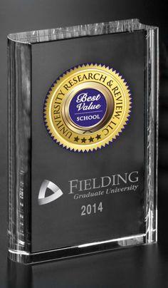 Fielding Graduate University Receives 2014 Best Value School Trophy