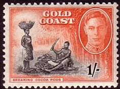 Gold Coast 1948 SG 143 Breaking Cocoa Pods Good Used SG 143 Scott 138 Other British Commonwealth Empire and Colonial stamps Here Crown Colony, Picture Engraving, Buy Stamps, Chicago City, Chat Board, Birthday Numbers, West Africa, Commonwealth, Stamp Collecting