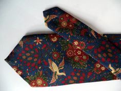 Liberty of London Tie vintage Jeweled Exotic by MushkaVintage3