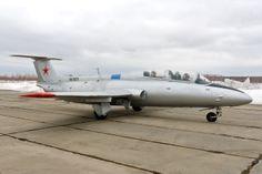 Реактивный УТС Л-29 (L-29 Delfin) - аэродром Крутышки (Ступино)