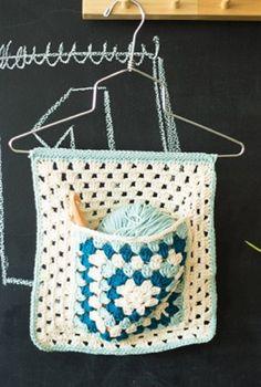 Free Pattern: Knitters Tool organizer