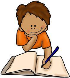 boy writing on floor