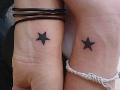 cute matching tattoos for friends  @Morgan Gano  who does this remind you of? haha