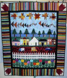row by row quilt - Google Search