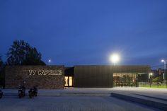 VV Capelle Soccer Clubhouse,© Luuk Kramer