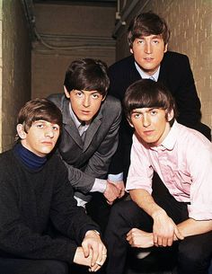 Portrait of the The Beatles From left to right Ringo Starr Paul McCartney John Lennon and George Harrison circa 1965