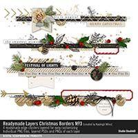 Readymade Layers: Christmas Borders No. 03