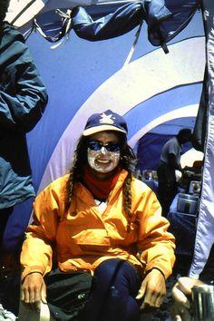 Everest Base Camp-Lene just back from Camp II