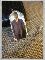 artepovera#necklace#Magritte#art#timeless#chain#painting#favorite#my ArtePovera necklace!!!