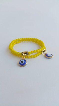 Faceted gemstone beaded bracelets  stretch bracelet by TresJoliePT