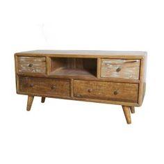 Tv-meubel Vintage Wood Small