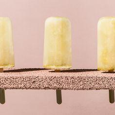 Lemon-Thyme Ice Pops -  Like frozen lemonade on a stick; in place of thyme, try basil, mint, or lemon verbena. #Recipe #Lemon #Thyme