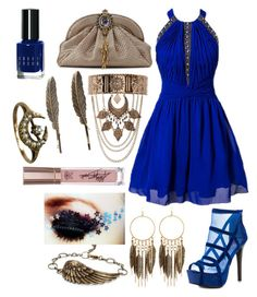 """Taygete Carver - Homecoming"" by ashlynknight ❤ liked on Polyvore featuring Little Mistress, 2 Lips Too, Armenta, New Look, Panacea, Charlotte Russe, Bobbi Brown Cosmetics and Homecoming"