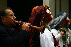 genitsaroi & mpoules Naousa www. Macedonia, Carnival, Dreadlocks, Traditional, Hair Styles, Beauty, Hair Plait Styles, Carnavals, Hair Makeup