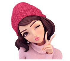 Sommer 2 (im Winter) von Yinxuan Li Dezarmenien Sevimli Anime Kızı, Anime Kız . Girl Cartoon Characters, Cartoon Girl Images, Cute Cartoon Pictures, Cute Cartoon Girl, Cute Love Pictures, Cute Love Cartoons, Girly Pictures, Anime Girl Cute, Cartoon Pics