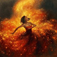 Firefly - Jimmy Lawlor Possibly made with Oil paint or sponge painting