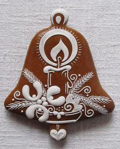 Perníkový zvonek - dekorace