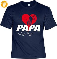 für werdende Väter Geschenke Idee T-Shirt zur Geburt Baby PAPA Vatertagsgeschenk Vatertag klassischer Schnitt Geburtstagsgeschenk Tochter für Vater Gr: S : ) - Shirts mit spruch (*Partner-Link)