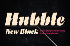Hubble by Posterizer KG on @creativemarket