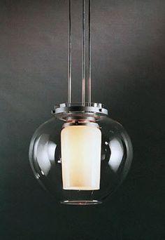 design pendant lamp (glass) CAPRIS by Torbjörn Eliasson BLOND