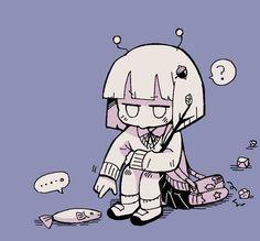 Anime W, Anime Art Girl, Pretty Art, Cute Art, Cyberpunk, Character Design Animation, Art Poses, Cartoon Art Styles, Kawaii Wallpaper