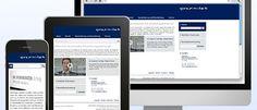 Für die Kanzlei Proximitas konnten wir ein neue Webseite im responsive Webdesign umsetzen.  http://www.proximitas.at  responsive Webdesign © echonet communication GmbH
