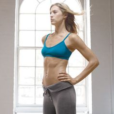 Use these creative ab exercises to strengthen and slim your tummy