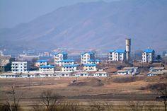 Kijongdong North Koreas Deserted Propaganda Village  Lazer Horse