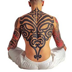 Tribal Full Back Tattoo Ideas For Men Cool Tattoos