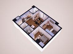 Thiết kế căn hộ sao ánh dương Star AD1 - ADG Palace Hotline: 0977796546