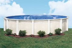 Doughboy Pools is one of the most adaptable pools on the market today. Whether you want an above ground pool or an in-ground look, we have it! Best Above Ground Pool, Above Ground Swimming Pools, In Ground Pools, Backyard Patio, Backyard Landscaping, Landscaping Ideas, Backyard Ideas, Doughboy Pool, Above Ground Pool Landscaping