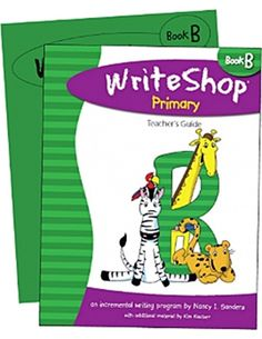 WriteShop Primary B Set -Teacher Guide/ Activity Pack Writing Process, Second Grade, Encouragement, Challenges, Author, Teacher, Student, Packing, Activities