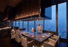 Osaka Marriott restaurant