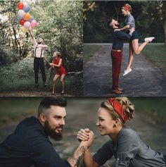 This is the cutest engagement photos everr ♡                                                                                                                                                                                 More