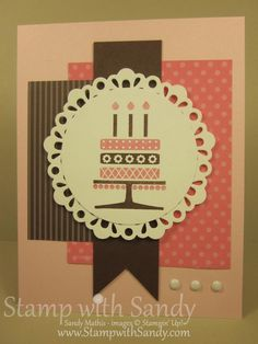 Stamp With Sandy: Embellished Events, Stampin Up
