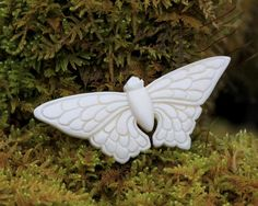 Butterfly, Carved Bone