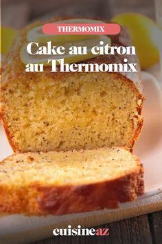 Ce cake au citron est une pâtisserie facile à préparer au Thermomix. Vous pouvez servir ce gâteau au goûter ou en dessert par exemple. #recette#cuisine #patisserie #patisseriemaison #cakemaison #cake #citron #robot #robotculinaire #thermomix