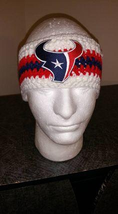$20 Gift for the Fan Houston Texans Handmade Headband Hand Wash Only http://www.bonanza.com/listings/281560941
